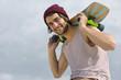 Skateboarder Portrait