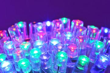 Farbige LEDs