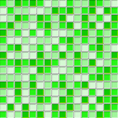 green tile walll texture