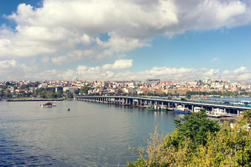 View of Istanbul from the other side
