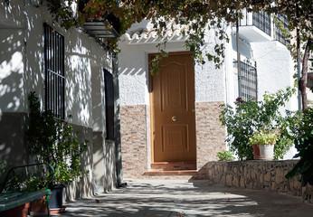 the door of the house