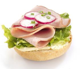 kanapka z szynką 5