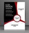 Vector Flyer Design - Business
