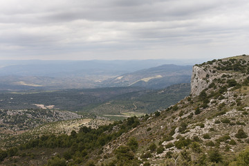spanish mountains landscape