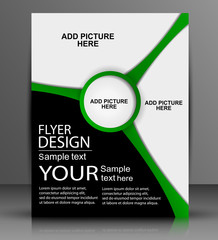 Vector Flyer Design - Business