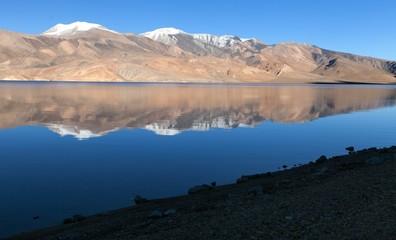 Tso Moriri lake in Rupshu valley