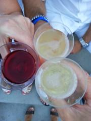 Feiern mit guten Freunden & Sekt