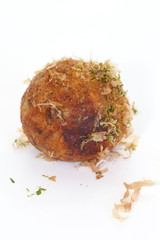 Takoyaki ,ball shaped Japanese snack