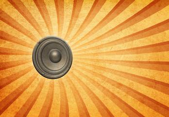 audio speaker background