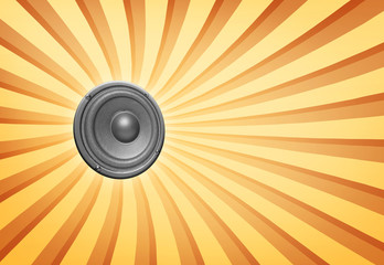 audio speaker background