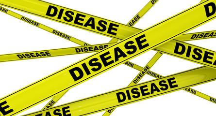 Болезнь (Disease). Желтая оградительная лента
