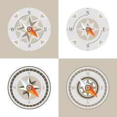 decorative compass arrow set design