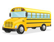 school bus vector illustration - 71545212