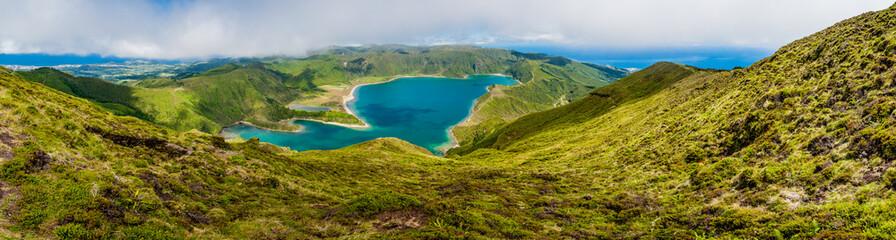 Lagoa do Fogo Sao Miquell-Azores-Portugal