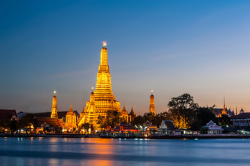Wat Arun tample Thailand