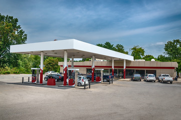 Generic Gasoline Station Convenience Store