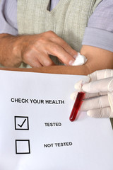 check your health tested