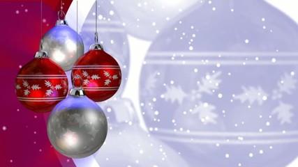 шары  для  рождества
