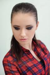 Beauty Portrait. Make-up