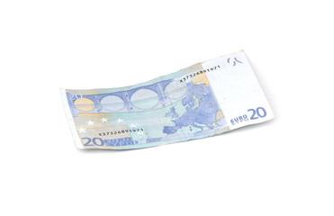 20 Euro Rückseite