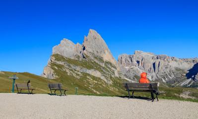 Funes valley, the wonderful Odle mountain range