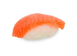 Single sushi on white