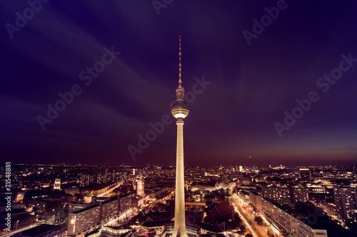 Staande foto Berlijn Berlin TV Tower