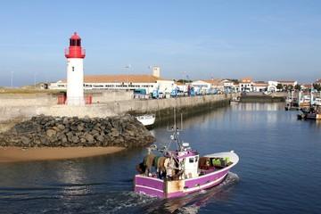 port de la cotinière,île d'oléron,charente maritime