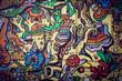 Mur de graffitis