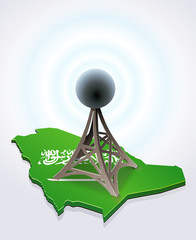 Antenna in Saudi Arabia