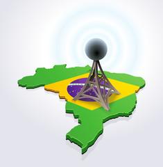 Antenna in Brazil