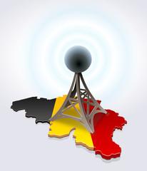 Antenna in Belgium