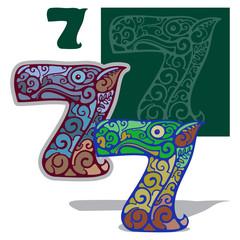 Номер семь,7.