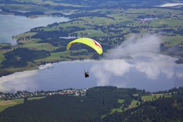 Paragliding im Allgäu