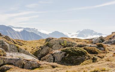 Bettmeralp, Dorf, Walliser Alpen, Simplonpass, Schweiz