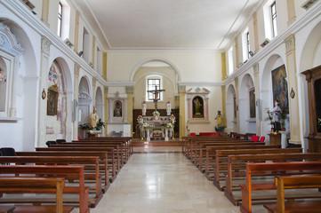 Church of Zaccaria. Brienza. Basilicata. Italy.