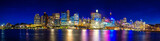 Fototapety Panorama Night life Sydney city