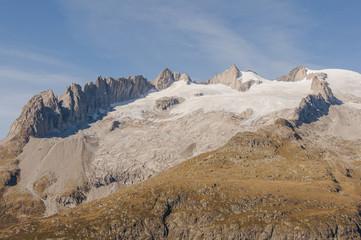 Bettmeralp, Dorf, Aletschgletscher, Fusshörner, Alpen, Schweiz
