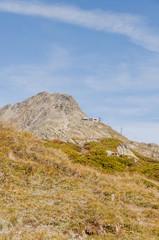 Bettmeralp, Dorf, Bettmerhorn, Schweizer Alpen, Wallis