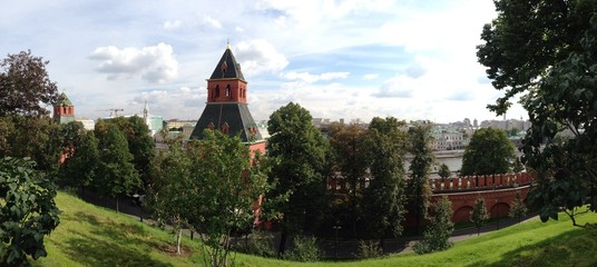 view from kremlin, Moscow