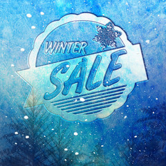 Winter Sale - Snow
