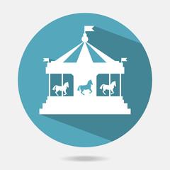 carousel vector icon