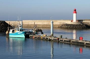 phare et port de pêche,la cotinière,île d'oléron