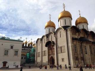 assumption cathedral in Moscow kremlin