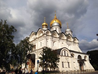 Archangel's cathedral in Moscow kremlin