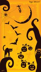 Crazy Halloween Mix on the orange background
