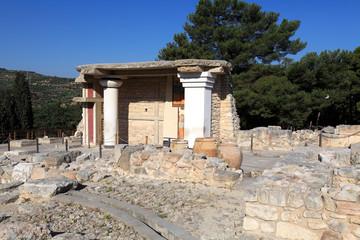 Knossos Palace Ruins, Heraklion Crete