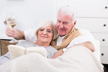 im Alter die Pension genießen