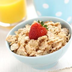 Frühstück mit Cornflakes