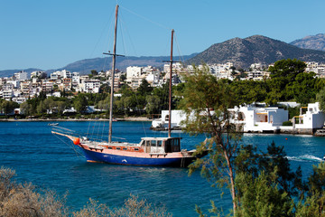 Agios Nikolaos City, Crete, Greece